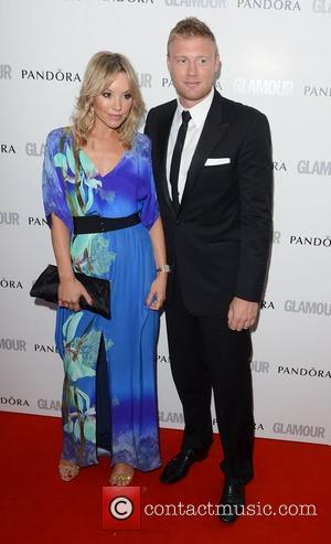 Freddie Flintoff at The Glamour Women of the Year Awards 2012 - Arrivals. London, England- 29.05.12