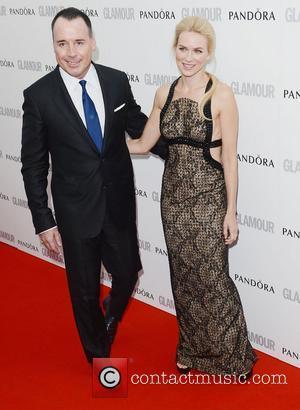 Naomi Watts, David Furnish and Glamour Women Of The Year Awards