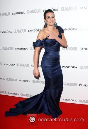 Lea Michele and Glamour Women Of The Year Awards