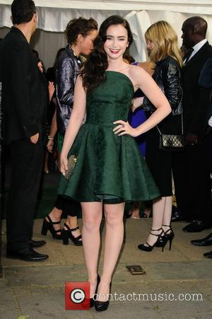 Lily Collins and Glamour Women Of The Year Awards