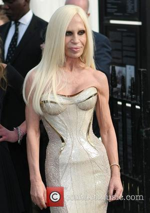 Donatella Versace,  at The Glamour Women of the Year Awards 2012 - Arrivals. London, England- 29.05.12