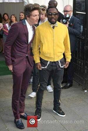 Tyler James and Will.I.am,  at The Glamour Women of the Year Awards 2012 - Arrivals. London, England- 29.05.12