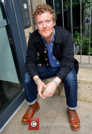 Glen Hansard  at Today FM studios Dublin, Ireland - 30.08.12