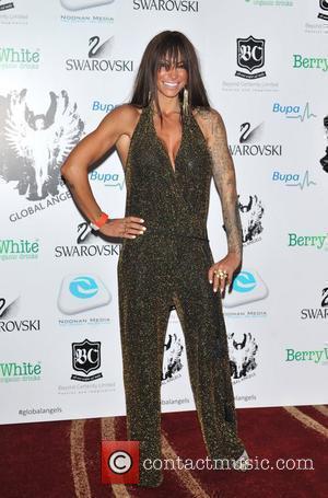 Jodie Marsh 'Global Angel Awards' held at the Park Plaza Hotel. London, England - 02.12.11