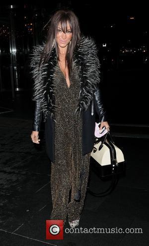 Jodie Marsh 'Global Angel Awards' held at the Park Plaza Hotel - Departures London, England - 02.12.11