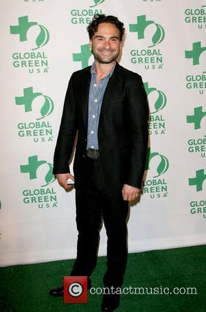 Johnny Galecki Global Green USA's 9th Annual Pre-Oscar Party held at Avalon Hollywood, California - 22.22.12