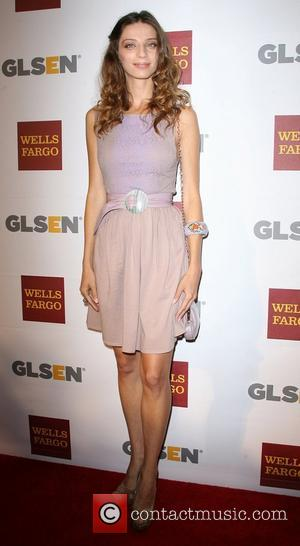 Angela Sarafyan 8th Annual GLSEN Respect Awards held at the Beverly Hills Hotel - Arrivals Los Angeles, California - 05.10.12