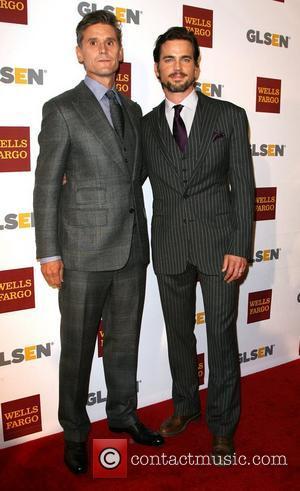 Matt Bomer and partner Simon Halls 8th Annual GLSEN Respect Awards held at the Beverly Hills Hotel - Arrivals Los...