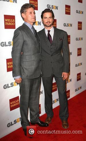 Matt Bomer  and Simon Halls  8th Annual GLSEN Respect Awards held at the Beverly Hills Hotel - Arrivals...