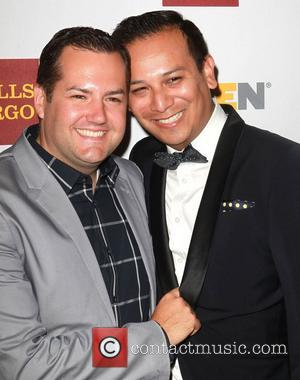 Ross Mathews and Salvador Camarena  8th Annual GLSEN Respect Awards held at the Beverly Hills Hotel - Arrivals Los...