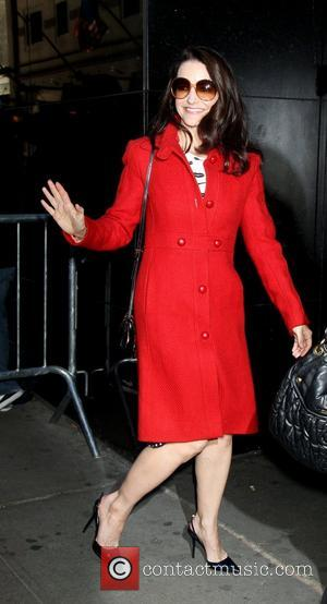 Kristin Davis outside ABC Studios to appear on 'Good Morning America'  New York City, USA - 05.03.12