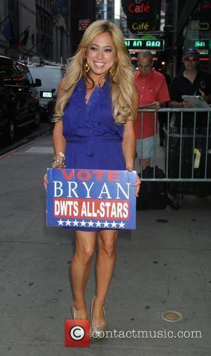 Sabrina Bryan at ABC Studios for 'Good Morning America' New York City, USA - 21.08.12
