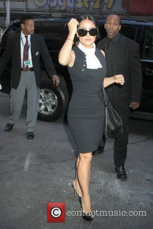 Salma Hayek Celebrity arrivals at ABC Studios for 'Good Morning America' New York City, USA - 27.06.12