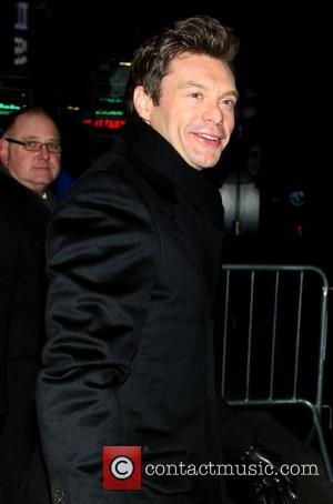 Ryan Seacrest Hard At Work On First Rockin' Eve Without Dick Clark