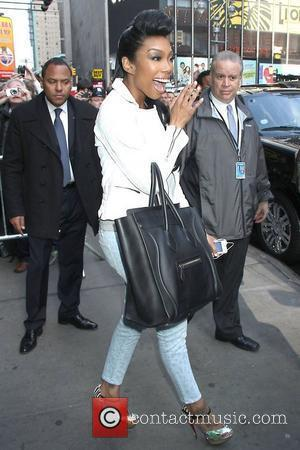 Brandy appearing on 'Good Morning America' show at the ABC Studios  New York, USA - 10.04.12