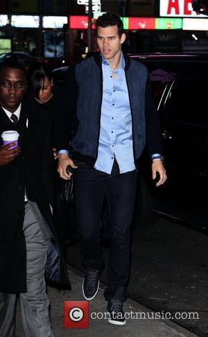 Kris Humphries Celebrities outside ABC Studios for 'Good Morning America' New York City, USA - 09.12.11