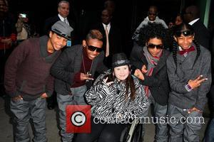 Prodigy, Princeton, Ray Ray and Roc Royal of Mindless Behavior Celebrities outside ABC Studios for 'Good Morning America' New York...