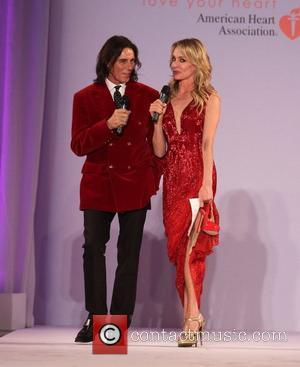 George Blodwell, Taylor Armstrong Style Fashion Week hosts Go Red for Women Celebrity Red Dress Fashion Show at Vibiana Cathedral...