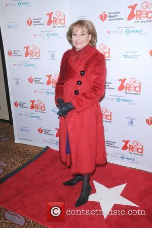 Barbara Walters American Heart Association's 2012 New York City 'Go Red For Women' Luncheon held at the Hilton New York...
