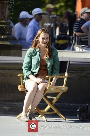 Alicia Silverstone on the movie set of 'Gods Behaving Badly' New York City, USA - 19.09.12