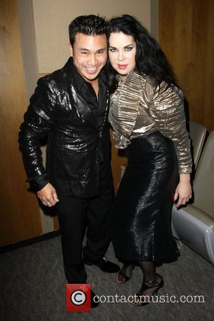 Christian Moralde, Chyna 2012 Black & Gold Gala held at The L.A. Studio Center Los Angeles, California - 28.04.12
