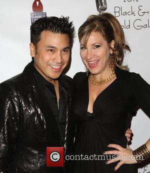 Christian Moralde, Lisa Ann Walter  2012 Black & Gold Gala held at The L.A. Studio Center Los Angeles, California...