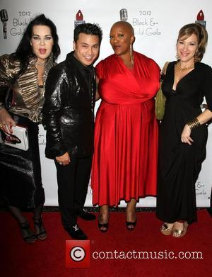 Chyna, Christian Moralde, Frenchie Davis, Lisa Ann Walter 2012 Black & Gold Gala held at The L.A. Studio Center Los...
