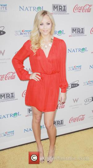 Laura Vandervoort 'Gold Meets Golden' event at The Lounge at Equinox in West Los Angeles  Featuring: Laura Vandervoort Where:...