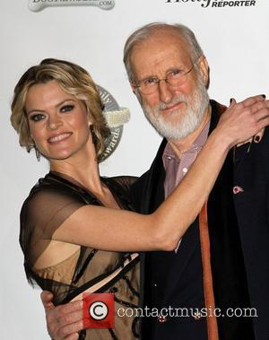 Missi Pyle and James Cromwell