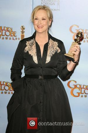 Meryl Streep, Golden Globe Awards and Beverly Hilton Hotel