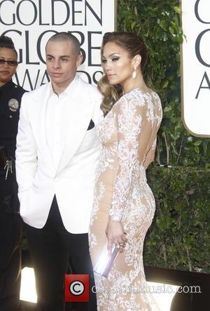 Casper Smart, Jennifer Lopez and Beverly Hilton Hotel