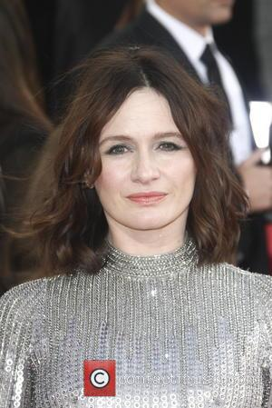 Emily Mortimer and Beverly Hilton Hotel