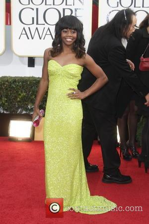 Gabby Douglas 70th Annual Golden Globe Awards held at the Beverly Hilton Hotel - Red Carpet  Featuring: Gabby Douglas...