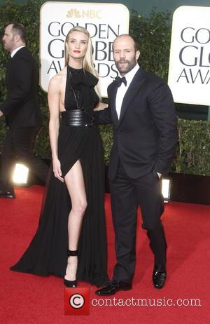 Jason Statham; Rosie Huntington-Whiteley 70th Annual Golden Globe Awards held at the Beverly Hilton Hotel - Red Carpet  Featuring:...