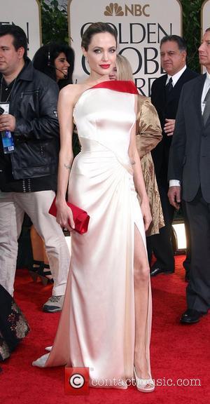 Angelina Jolie, Golden Globe Awards and Beverly Hilton Hotel