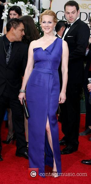 Laura Linney,  The 69th Annual Golden Globe Awards (Golden Globes 2012) held at The Beverly Hilton Hotel - Arrivals...