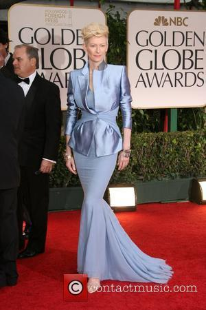 Tilda Swinton The 69th Annual Golden Globe Awards (Golden Globes 2012) held at The Beverly Hilton Hotel - Arrivals Los...