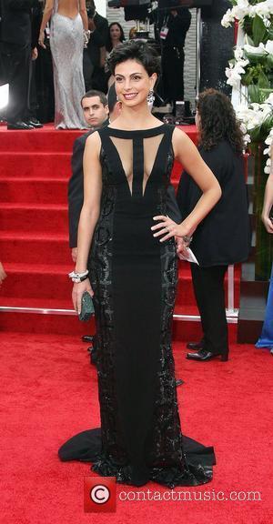 Morena Baccarin, Golden Globe Awards and Beverly Hilton Hotel