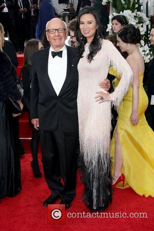 Rupert Murdoch and Wendi Murdoch,  The 69th Annual Golden Globe Awards (Golden Globes 2012) held at The Beverly Hilton...