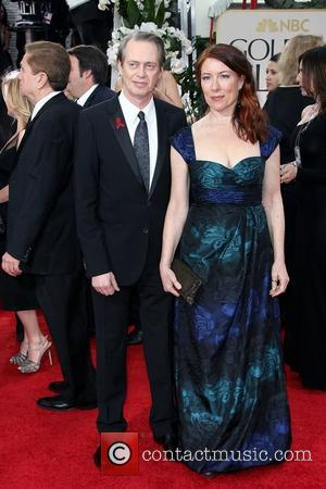 Steve Buscemi and Jo Andres,  The 69th Annual Golden Globe Awards (Golden Globes 2012) held at The Beverly Hilton...