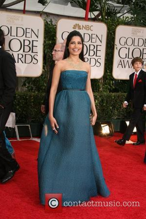 Golden Globe Awards, Freida Pinto, Beverly Hilton Hotel