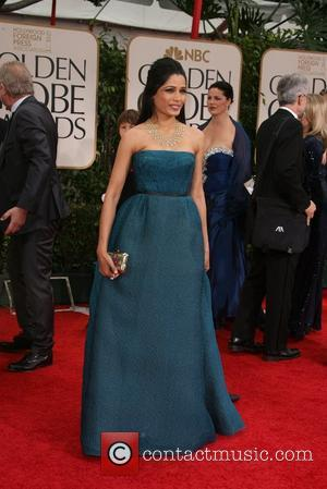 Freida Pinto, Golden Globe Awards and Beverly Hilton Hotel