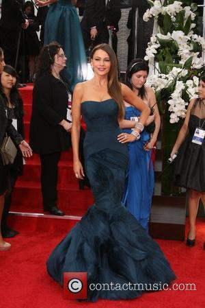 Sofia Vergara, Golden Globe Awards and Beverly Hilton Hotel