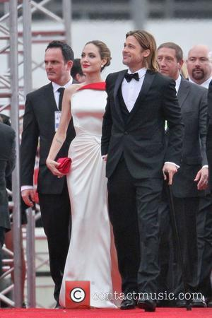 Angelina Jolie, Brad Pitt, Golden Globe Awards and Beverly Hilton Hotel