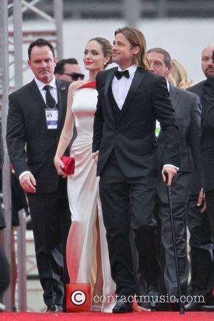Angelina Jolie, Brad Pitt, Golden Globe Awards and Beverly Hilton Hotel