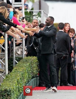 Idris Elba The 69th Annual Golden Globe Awards (Golden Globes 2012) held at The Beverly Hilton Hotel - Outside Arrivals...