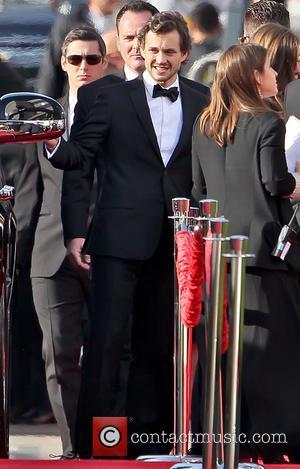 Hugh Dancy and Beverly Hilton Hotel
