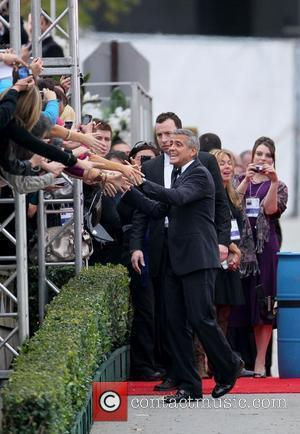 George Clooney The 69th Annual Golden Globe Awards (Golden Globes 2012) held at The Beverly Hilton Hotel - Outside Arrivals...