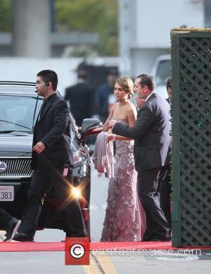 Jessica Alba, Golden Globe Awards and Beverly Hilton Hotel