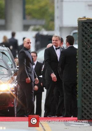 Leonardo DiCaprio The 69th Annual Golden Globe Awards (Golden Globes 2012) held at The Beverly Hilton Hotel - Outside Arrivals...